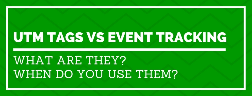 UTM Tags vs Events