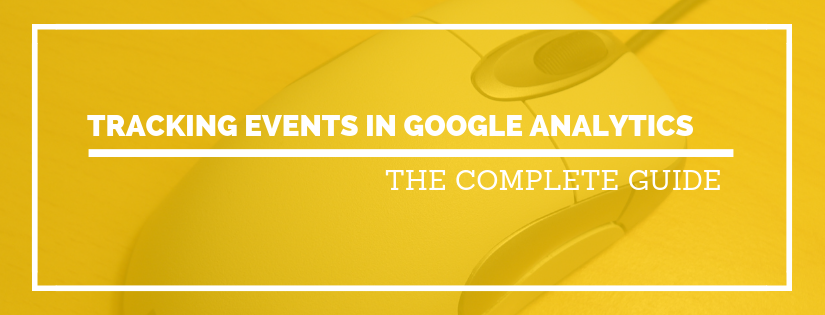 tracking events in google analytics
