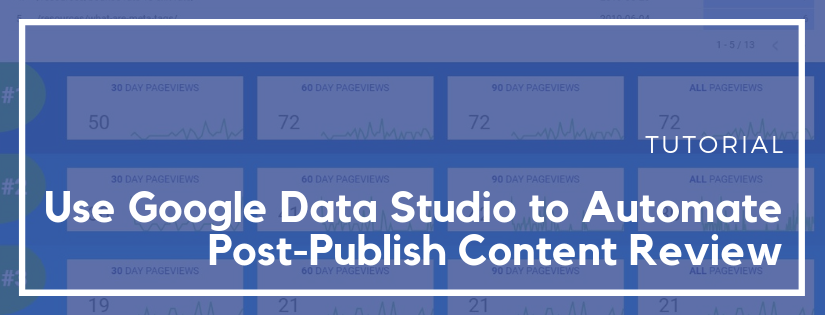 data studio content review