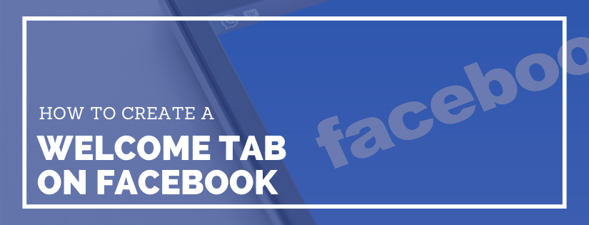 facebook welcome tab