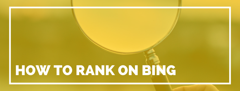 how to rank on bing
