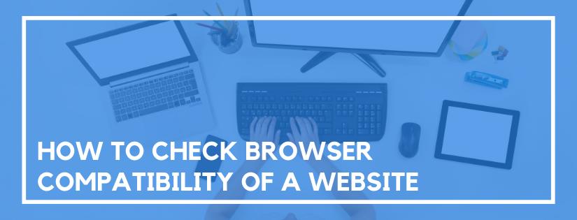 check browser compatibility