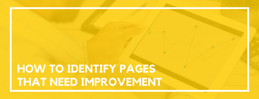 identify problem pages